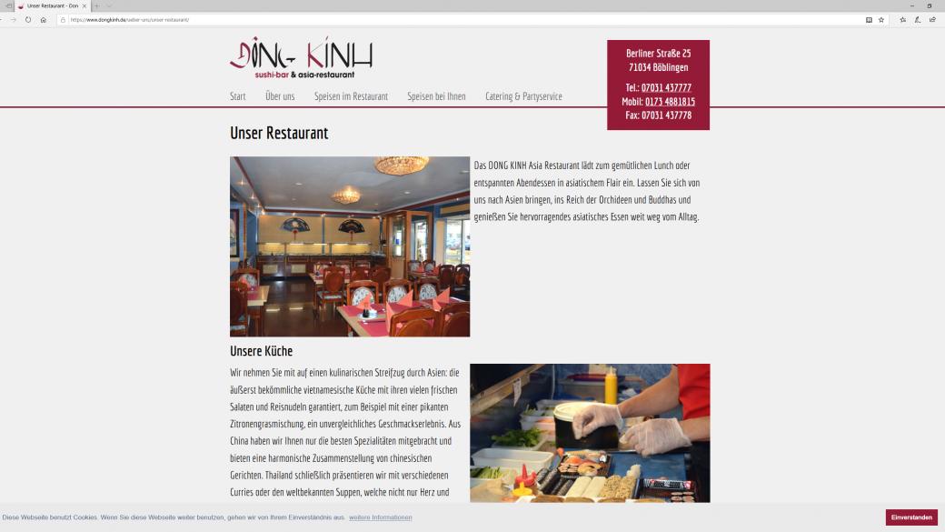 Asia & Sushi-Restaurants DONG KINH Böblingen