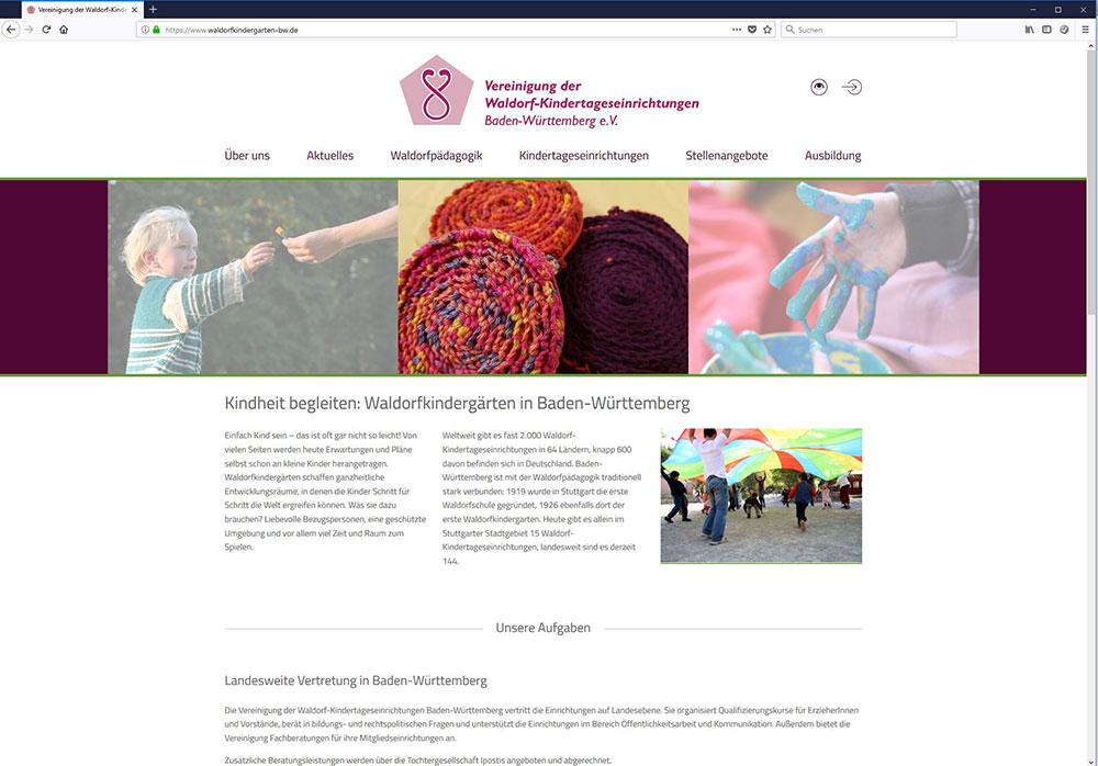 Vereinigung der Waldorfkindergarten BW e.V.