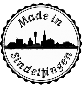 "Siegelstempel ""Made in Sindelfingen"""